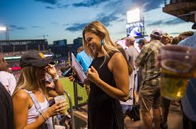 Taylor McGregor, TV reporter for Rockies, gives thanks to late ...