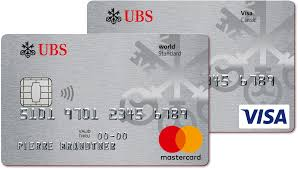 ubs clic standard cards