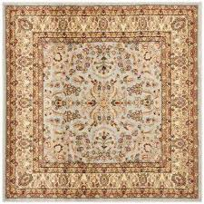 lyndhurst gray beige 7 ft x 7 ft square area rug