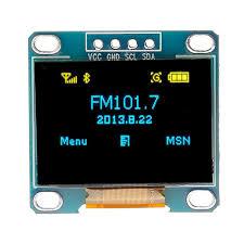 <b>0.96 Inch 4Pin</b> Blue Yellow IIC I2C OLED Display Module For Arduino