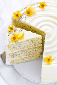 Lemon Poppyseed Cake