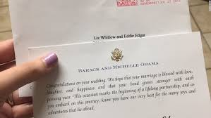 barack obama still responds to strangers wedding invitations cnnpolitics