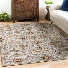 imports listless light gray pale blue rug persian beige transitional area rugs