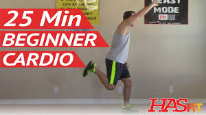 25 min beginner cardio workout at home low impact cardio exercises easy aerobic workouts