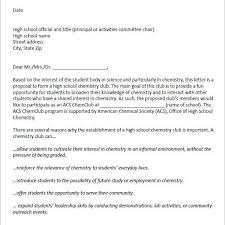 Sample Of Proposal Letters Sample Proposal Letter For Community Outreach