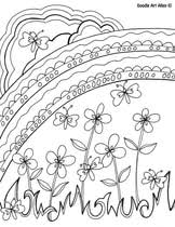 Spring is the perfect time to get creative! Spring Coloring Pages Doodle Art Alley