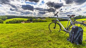 grassy field background. Free Photos \u003e Public Domain Images Bicycle And Background On Grassy Field  Background U