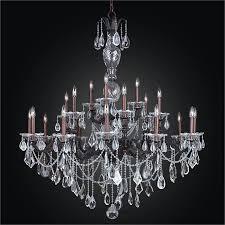 english manor glow wrought iron grand foyer crystal chandelier 546mf21lob 7c
