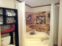 mobile home tub and shower unit corner garden redo bathroom ideas units curtain r mobile home bathtub