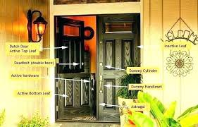 residential front doors with glass. Glass Dutch Door Entry Residential Hardware Doors With Fiberglass Jeld Front