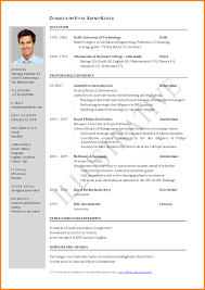 Resume Updated Format Free Resume Example And Writing Download
