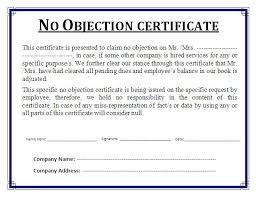 No Objection Certificate Rajivagarwalproperty