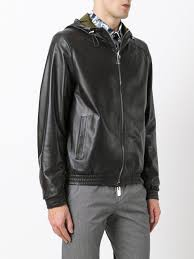 bally reversible hooded jacket 00221 men clothing leather jackets bally belts
