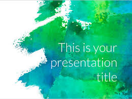 Powerpoint Backgrounds Free Free Art Powerpoint Template Or Google Slides Theme