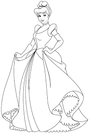 Small Picture For Kids Free Cinderella Coloring Pages 63 On Free Coloring Book