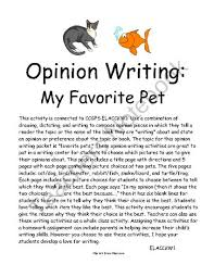 opinion writing favorite pet persuasive writing the topic for opinion writing favorite pet persuasive writing the topic for this opinion writing packet