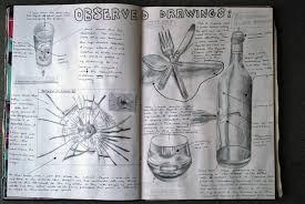 international gcse art sketchbook natural forms coursework 98