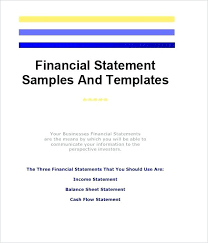 Sample Financial Reports New Home A Business Template Premium Sample Annual Financial Report And
