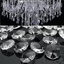 glass crystal chandelier drop clear crystals pendant lamp prisms parts hanging drops celeste dark antique bronze glass crystal chandelier drop