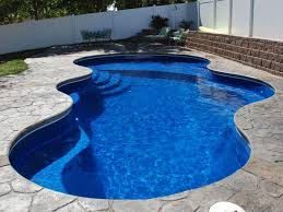 freeform pools trilogy fiberglass swimming pool s