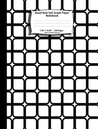 Quad Rule 5x5 Graph Paper Notebook 7 44
