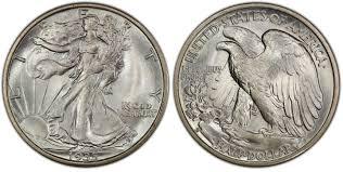1935 Silver Half Dollar Value Chart 1935 S 50c Regular Strike Walking Liberty Half Dollar