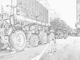 Coloriage Les Agriculteurs A Paris 67 Imprimer Pour Les Enfants