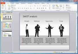 Swot Analysis Powerpoint Presentation Template To Create A Swot
