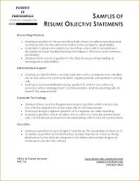 Examples Of Objective Statements On Resumes Ideas For Resume Objectives Effective Resume Objectives Examples