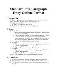 7 Paragraph Essay Outline Paragraph Essay Outline Example 5 Templates Free Premium Five Model