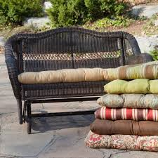 48 inch outdoor bench cushion new wicker patio bench lovely patio furniture seat cushions unique