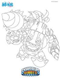 Small Picture Coloring page Cora turns 6 Pinterest Skylanders Kids