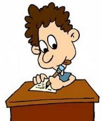 """Résultat de recherche d'images pour """"dessin avec élève qui écrit"""""""
