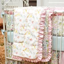 love birds 3 piece crib bedding set
