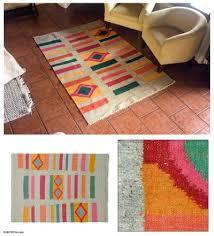 wool rug geometric colors fair trade geometric wool area rug