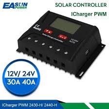 Shop <b>Solar</b> Charge Controller <b>30A 40A PWM Solar</b> Controller USB ...