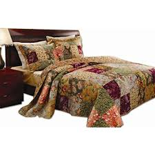 King Size Quilts Clearance: Amazon.com & Greenland Home Antique Chic King Quilt Set Adamdwight.com