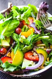summer fruit chopped salad layers of