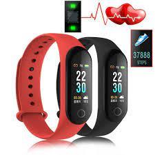 Vòng đeo tay thông minh M3 Plus kết nối Bluetooth theo dõi sức khỏe