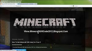minecraft gift code generator