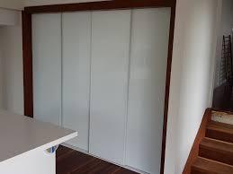 colourback white glass pantry frameless sliding doors colourback white glass pantry frameless sliding doors