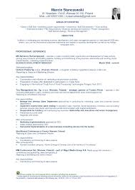 Charming Standard Resume Sample Format Images Example Resume