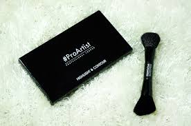 freedom makeup london highlight contour palette with brush freedom makeup london tam beauty
