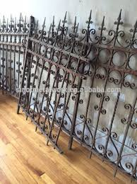 wrought iron fence victorian. Victorian Style Antique Wrought Iron Fence Metal Ornaments Horse Fencing U