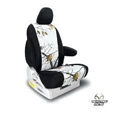 snow camo seat covers snow white realtree camo seat covers
