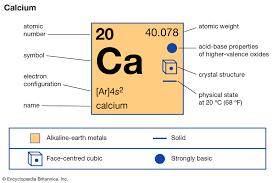 Calcium Compounds Britannica