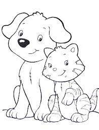 Small Picture Birthday Cat Coloring Pages Coloring Pages