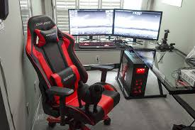 home office gaming computer. Home Office Gaming Computer. Amazing Battle Station Computer Desk Setup Black Glass L Pertaining N
