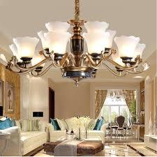 chandeliers in living room led chandeliers living room jade lamp modern restaurant bedroom study candle light
