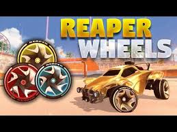 all painted reaper wheels on rocket